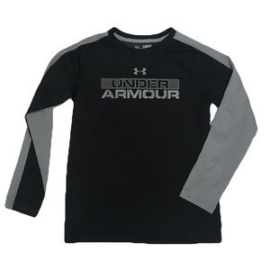 Under Armour Shirts & Tops - Under Armour youth medium logo shirt long sleeve